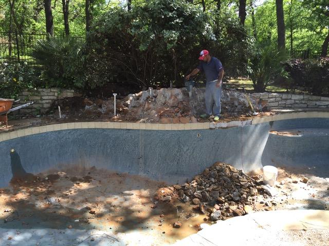 Pool Remodeling Demolition