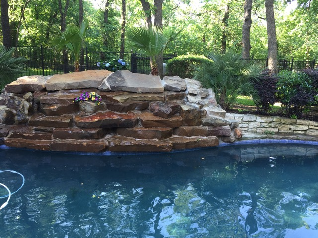 Pool Remodeling - Masonry After